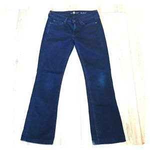 7 For All Mankind EUC bootcut jeans
